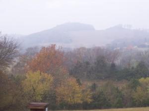 Saddle fog